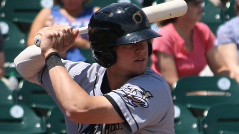 Wil Myers shares the Minor League lead with 27 homers across two levels.