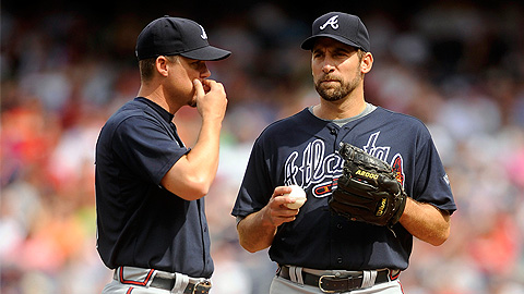 Chipper Jones (left) and John Smoltz became fan favorites in Atlanta.